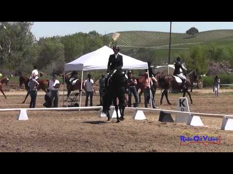 314D Kendra Sabino on Sans Sousi SR Novice Amateur Dressage Twin Rivers Ranch April 2014