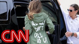 Does jacket choice cloud Melania's work? - CNN