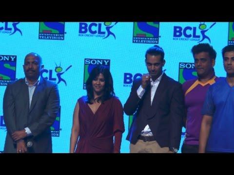 Ekta Kapoor Launches Box Cricket League!