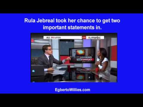 Palestinian Journalist Rula Jebreal challenges MSNBC on biased reporting and it's proven on air