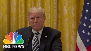 President Trump Says He Feels 'Terribly' For Brett Kavanaugh, Doesn't Mention Accuser | NBC News - NBCNEWS