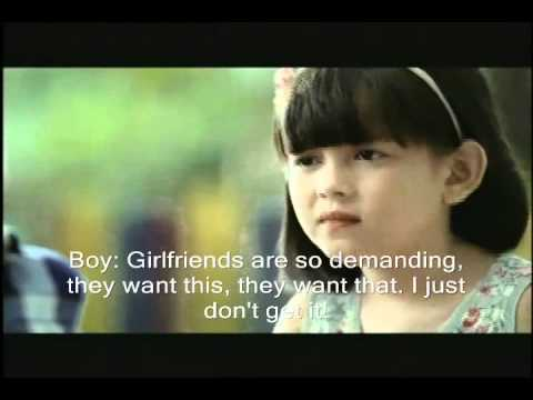 McDonalds Philippines Commercial 2011 BF & GF English Sub