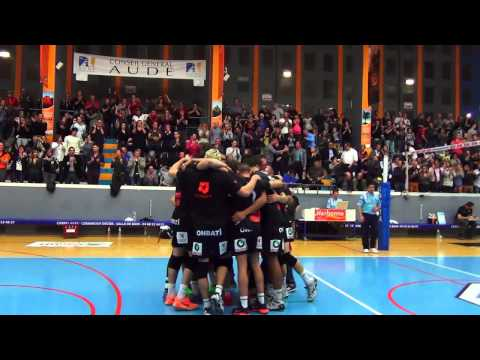 Narbonne Volley Vs Toulouse 2014 / 2015