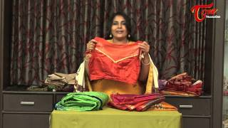 Fashion Passion | Turn Blouses Design for Saree Into Trendy Creation - TELUGUONE