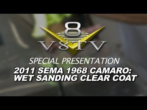 1968 Camaro Countdown to SEMA 2011 V8TV Video: The Wetsanding Begins!