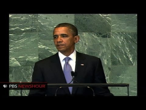President Obama Addresses U.N. General Assembly