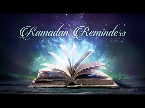 Ramadan Reminder Day 10 - Divine Speech: The Qur'an is the Speech of Allah - Yasir Qadhi | July 2012