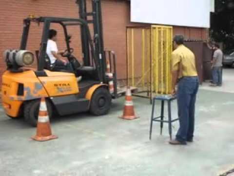 CURSO OPERADOR DE EMPILHADEIRA SENAI CONTAGEM-MG (PARTE 2 VIDEO)