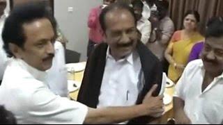 When Stalin met Vaiko: DMK tries to build anti-Jayalalithaa brigade - NDTV
