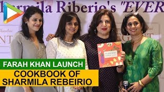 Farah khan Launch Cookbook of Author Sharmila Rebeirio - HUNGAMA