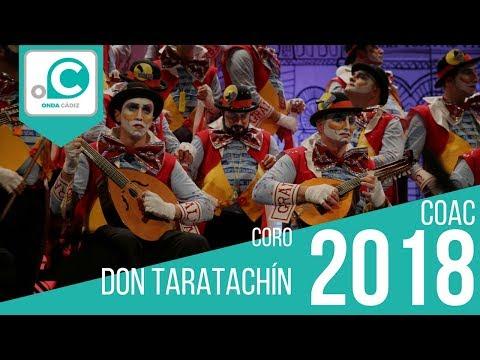 Sesión de Cuartos de final, la agrupación Don Taratachín actúa hoy en la modalidad de Coros.