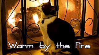 Royalty Free :Warm by the Fire
