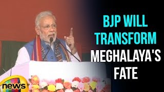 BJP will transform Meghalaya's fate and to bring change, Says Modi  | Mango News - MANGONEWS