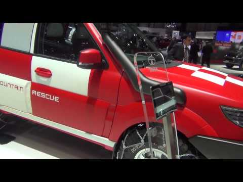 Tata Safari Storme Mountain Rescue Concept shown at Geneva Motor Show 2013