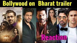 Bharat Trailer Bollywood & Celebrity reactions; Bharat trailer review, Katrina Kaif, Salman Khan - ITVNEWSINDIA