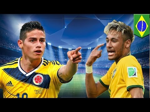 Brazil vs Colombia: Neymar and James Rodriguez are ready to dance at World Cup