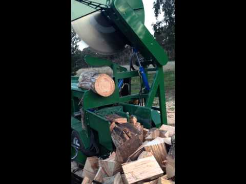 Beaver Equipment Firewood Processor 1200mm blade 550mm cut 60hp CAT diesel