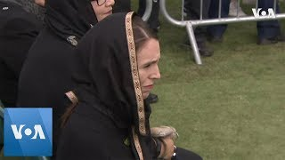 New Zealand PM Ardern Attends Friday Prayers Commemorating Christchurch Victims - VOAVIDEO