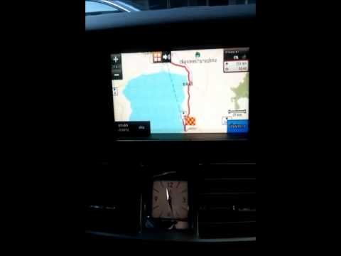 Benz E/CLS Command online with HMS Touch screen GPS  Thailand (Thai/Eng Map)