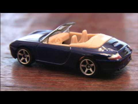 CGR Garage - PORSCHE 911 CARRERA CABRIOLET Matchbox Car review