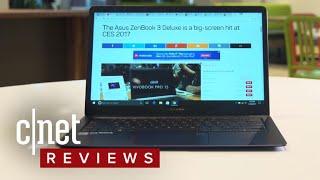 Asus ZenBook 3 Deluxe - CNETTV
