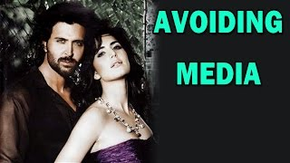 Katrina Kaif and Hrithik Roshan avoid media interaction! | Bang Bang Movie | Bollywood News