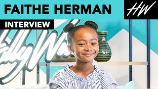 This Is Us Faithe Herman Reveals How Filming Shazam! Was With Asher Angel!! | Hollywire - HOLLYWIRETV