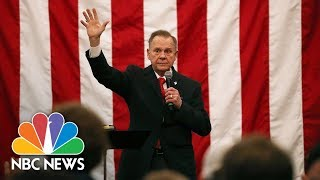 Watch Live: Roy Moore delivers concession speech from Alabama - NBCNEWS