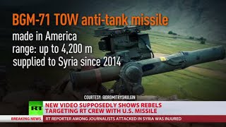 US anti-tank TOW missile used in attack on RT journalists in Syria - RUSSIATODAY