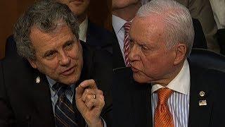 Senators get into shouting match over tax plan - CNN