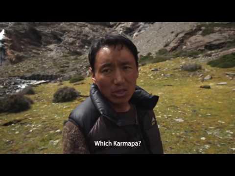 Approaching the Khari La Glacier