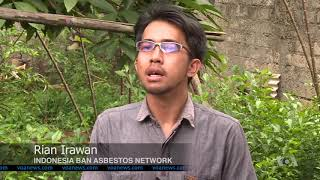 Court Case Highlights Dangers of Asbestos in Indonesia - VOAVIDEO
