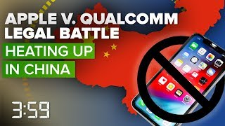 Apple, Qualcomm legal battle heats up in China (The 3:59, Ep. 501) - CNETTV