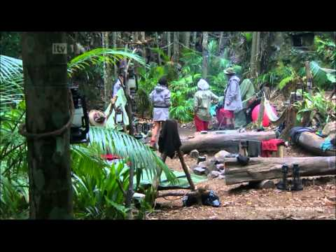im a celebrity jungle soap 1/12/2011 featuring willie (willy), Fatima, Anthony, Dougy and Mark