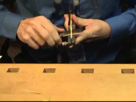 Bassoon Reed Making 2: Shaping
