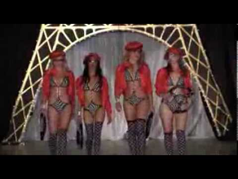 Miss Newcastle 2013 - F1 racer swimsuits catwalk