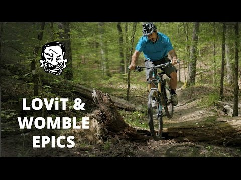 Riding Womble & LOViT MTB Trails - IMBA Epics of Arkansas