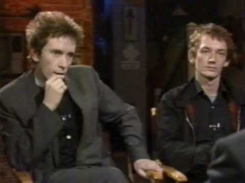 Public Image Ltd.- Interview With JJ Jackson (MTV 1982) 1st Part