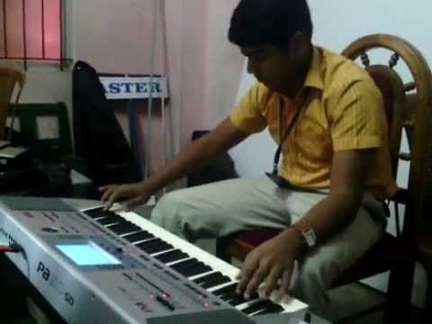 Best keyboard playing-Haule Haule -rab ne bana di jodi songs-sharukhan hits songs