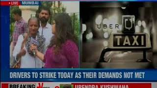 Ola-Uber Strike: Drivers to strike today as their demands not met - NEWSXLIVE