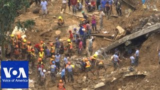 Philippines Landslide - VOAVIDEO
