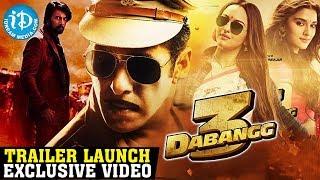 Salman Khan's Dabangg 3 Movie Trailer Launch LIVE || Salman Khan || Prabhudev || iDream Filmnagar - IDREAMMOVIES