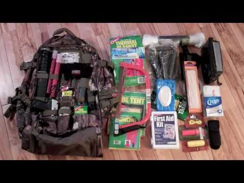Bug Out Bag, Get Home Bag, Survival Bag: My first attempt at a BOB.