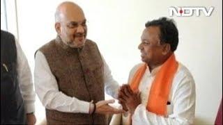 छत्तीसगढ़ : विधानसभा चुनाव से पहले कांग्रेस को झटका, BJP में शामिल हुए रामदयाल उइके - NDTVINDIA