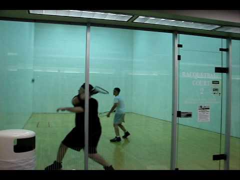 How To Play Racquetball - Backhand Stroke Mechanics