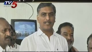 TDP Playing Dramas In Assembly - Harish Rao - TV5NEWSCHANNEL