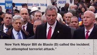 New York explosion considered attempted terrorist attack - WASHINGTONPOST