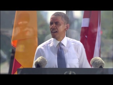 President Obama's speech in Berlin (full speech)
