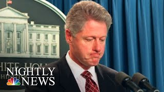 Monica Lewinsky Speaking Out On Bill Clinton Impeachment Trial 20 Years Later   NBC Nightly News - NBCNEWS
