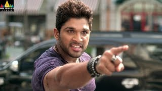 Iddarammayilatho Movie Allu Arjun Powerful Action | Latest Telugu Movie Scenes | Sri Balaji Video - SRIBALAJIMOVIES